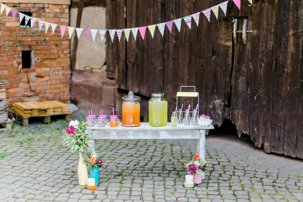 Getränkebar Hochzeit