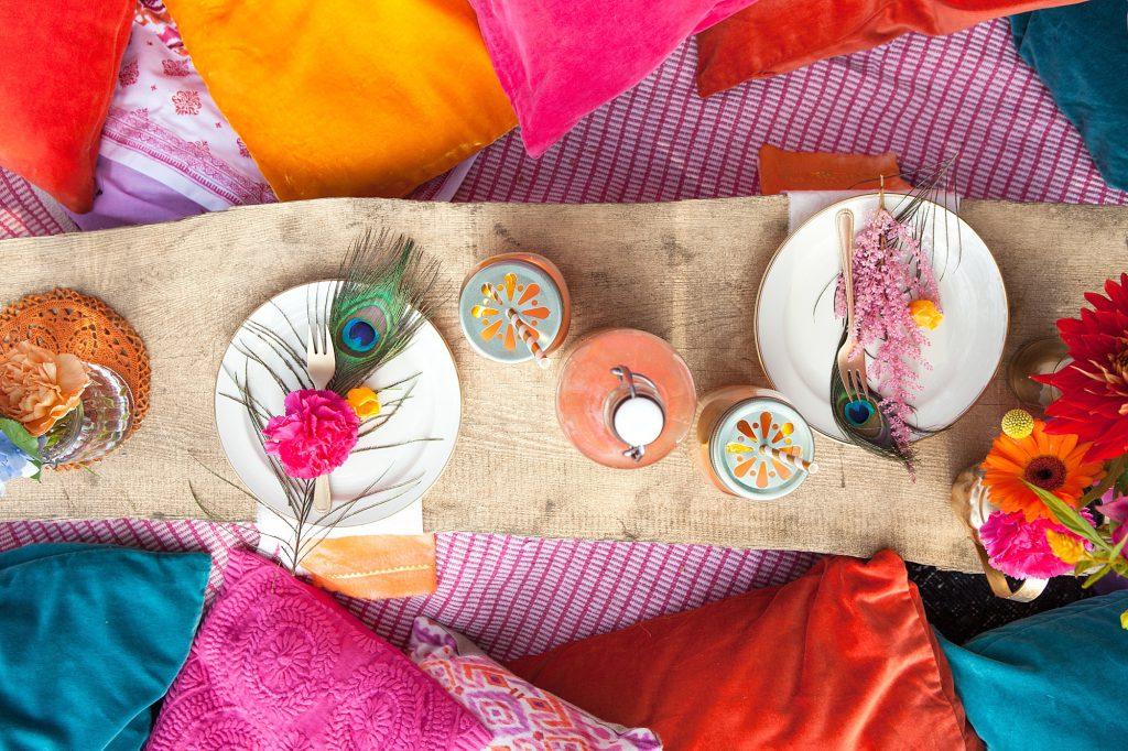 Gypsy Love: Inspirationen für eine entspannte Tipi Hochzeit