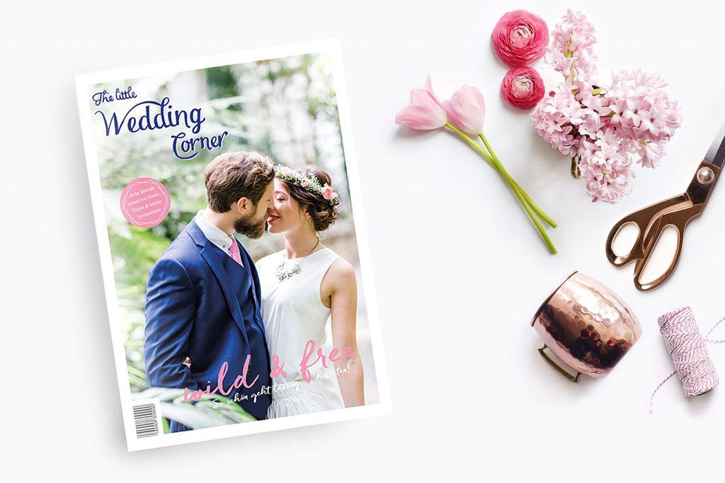 Das neue Hochzeitsmagazin für eure Hochzeit 2017  von The little Wedding Corner
