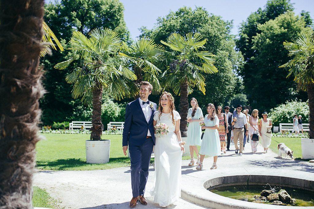 DIY Hochzeit im Palmenhaus