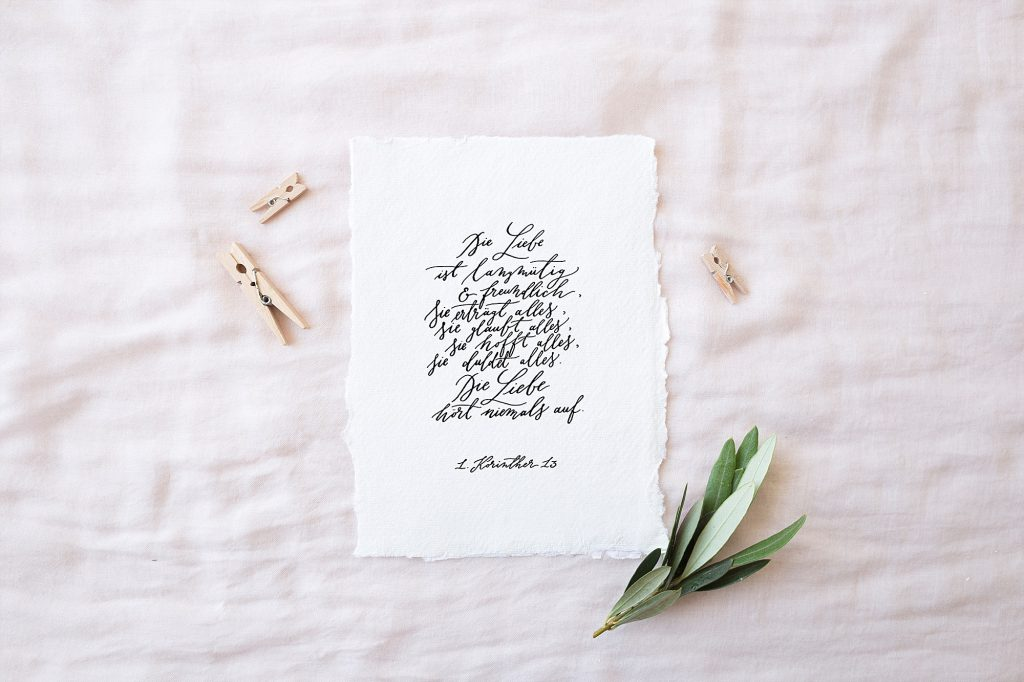 Handlettering Hochzeitsblog The Little Wedding Corner