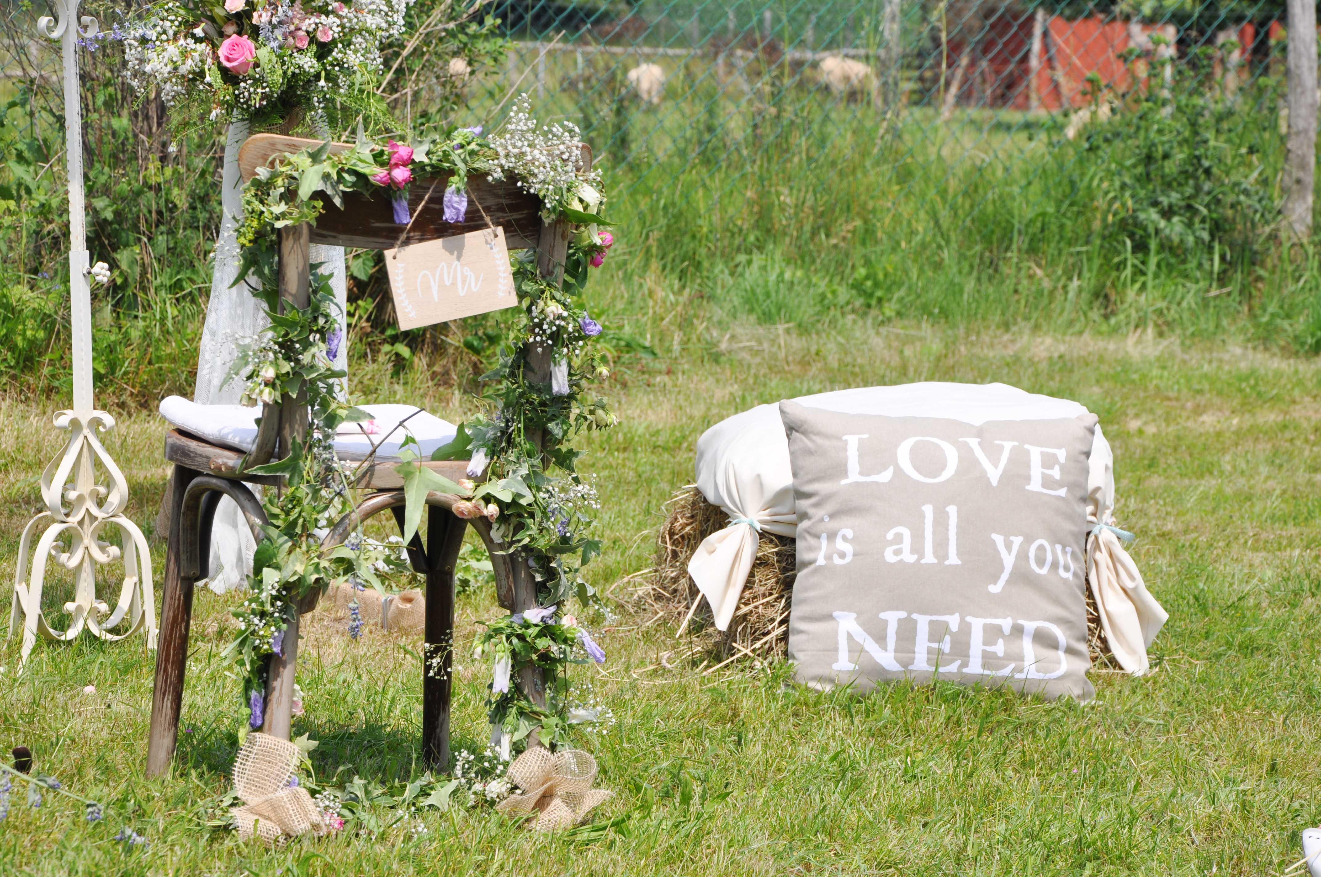 Romantische Diy Hochzeit Im Freien Hochzeitsblog The Little