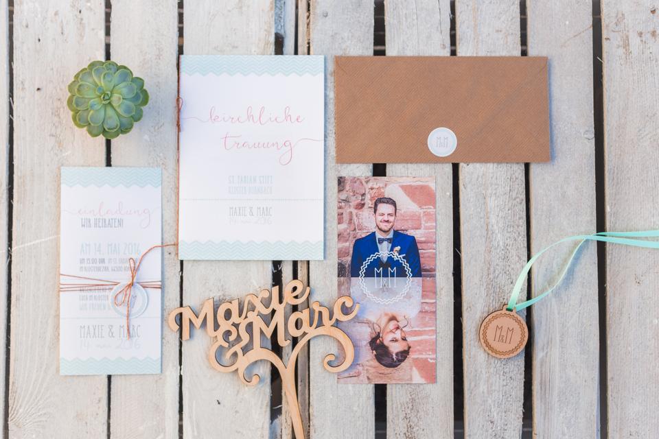 Individuelle Hochzeitskarten von Mannikus Made