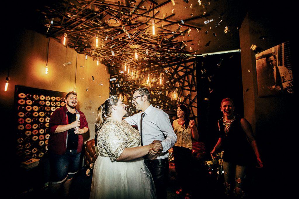 Von Donut Bars & Great Gatsby: Ein 3. Hochzeitsjubiläum