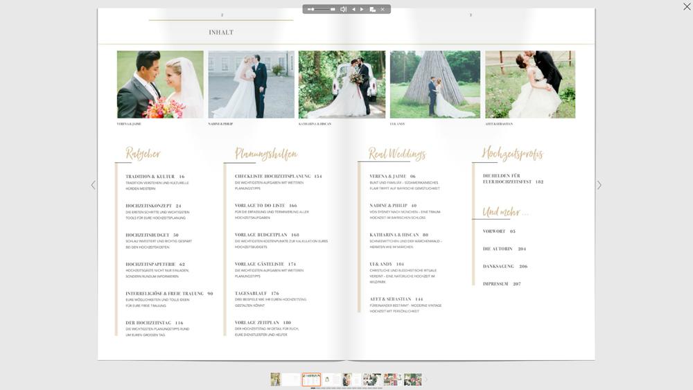 1 E-Book - Multikulturell heiraten - Inhaltsverzeichnis