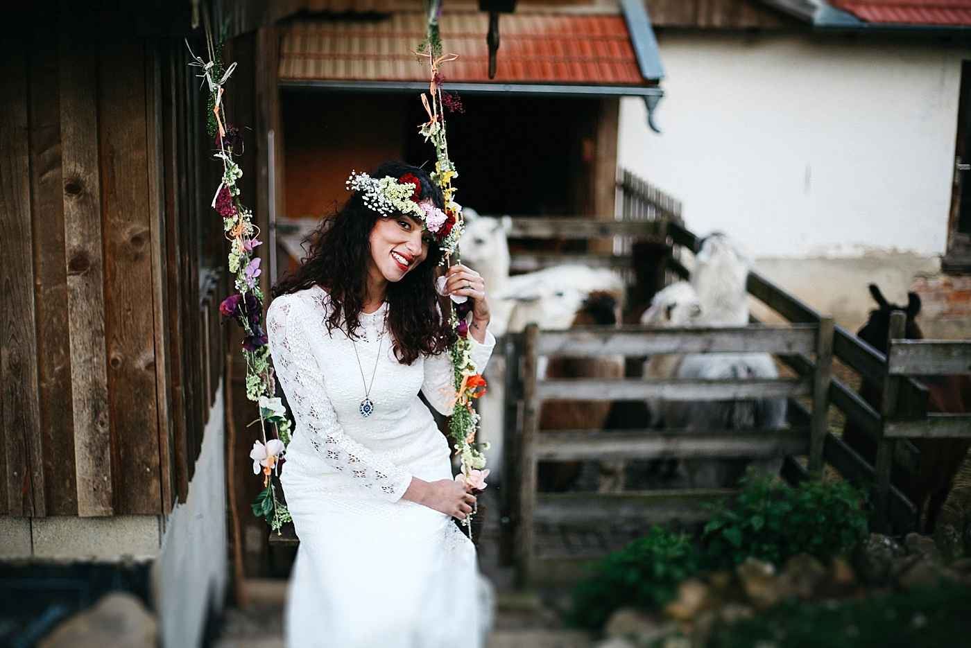 View More: http://claudiaebelingphotography.pass.us/alpakafarmweddingeinsendung