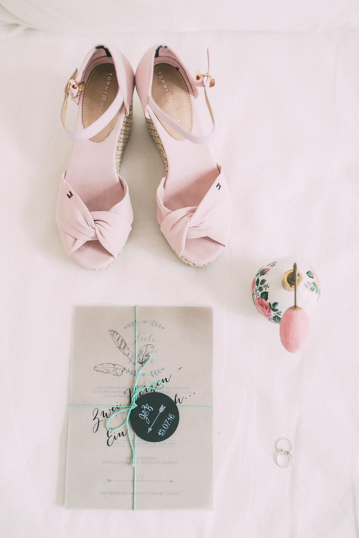 Brautschuhe rosa