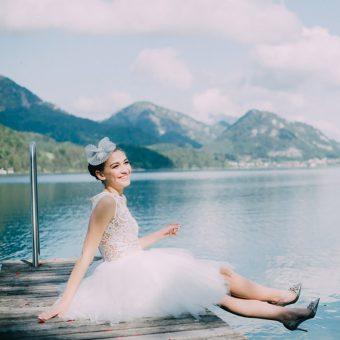 Edler Kopfschmuck und glamouröse Brautmode: Niely Hoetsch & Solaine Piccolie