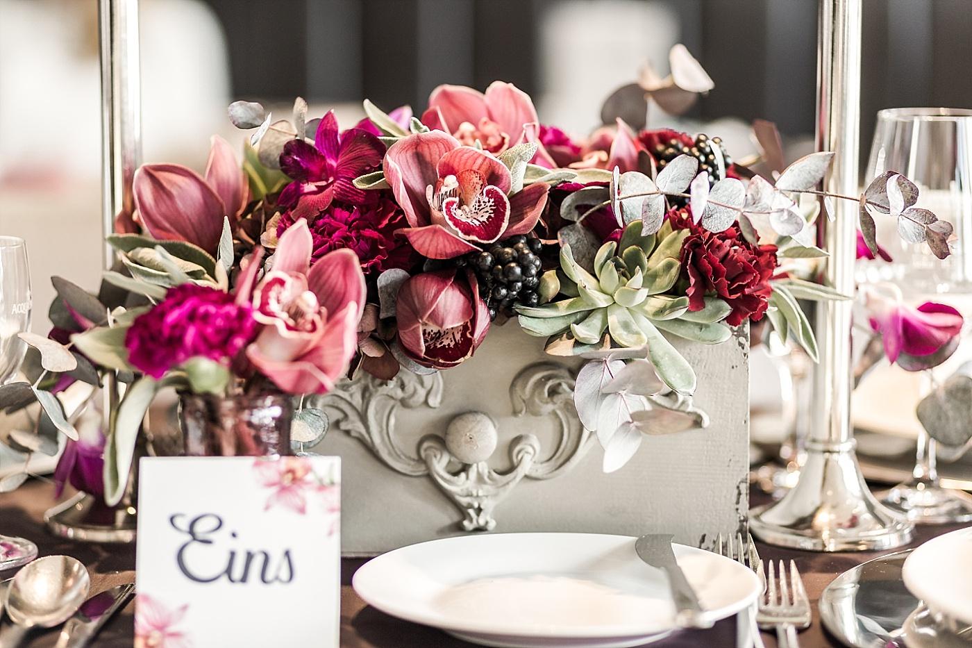 Hochzeitsdeko Orchidee