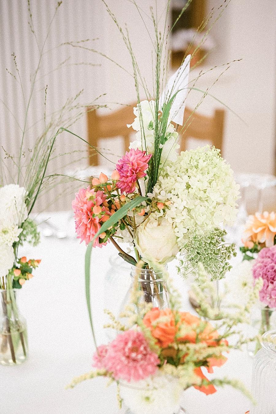 Hochzeitsdeko Wiesenblumen