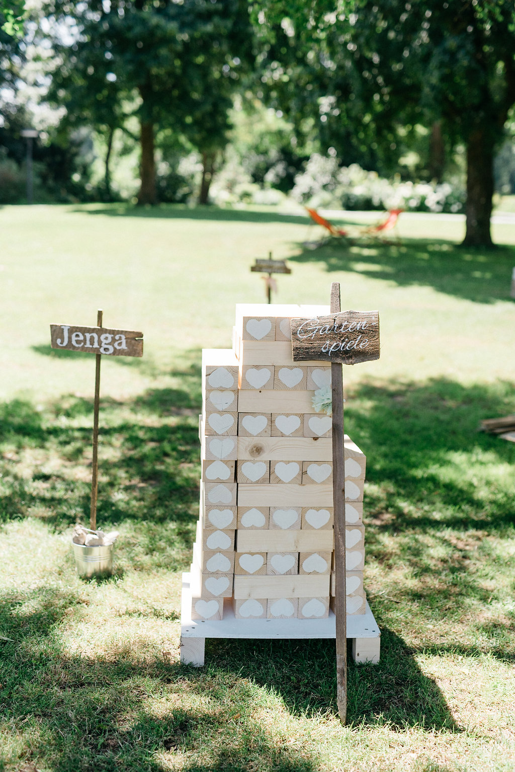 Beschäftigung Gäste Hochzeit, Risen Jenga Spiel