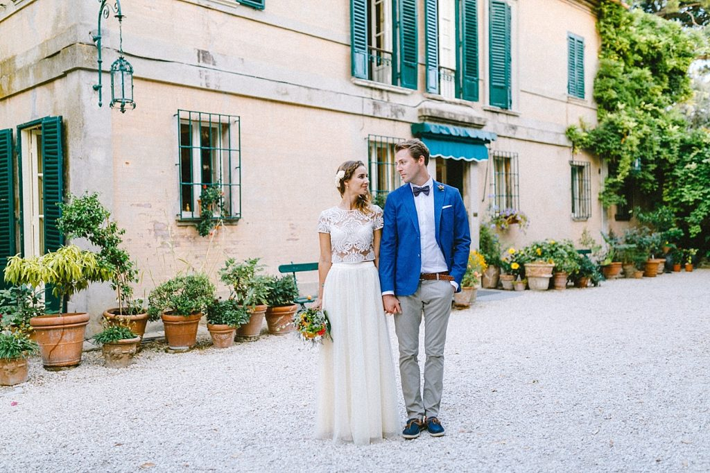 Mediterrane destination Wedding in Italien