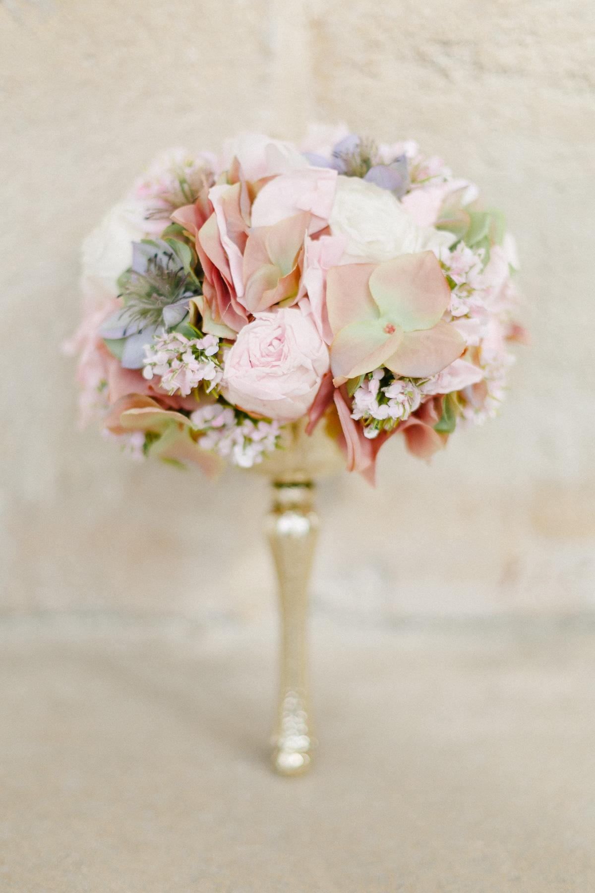 Brautstrauß pastell rosa