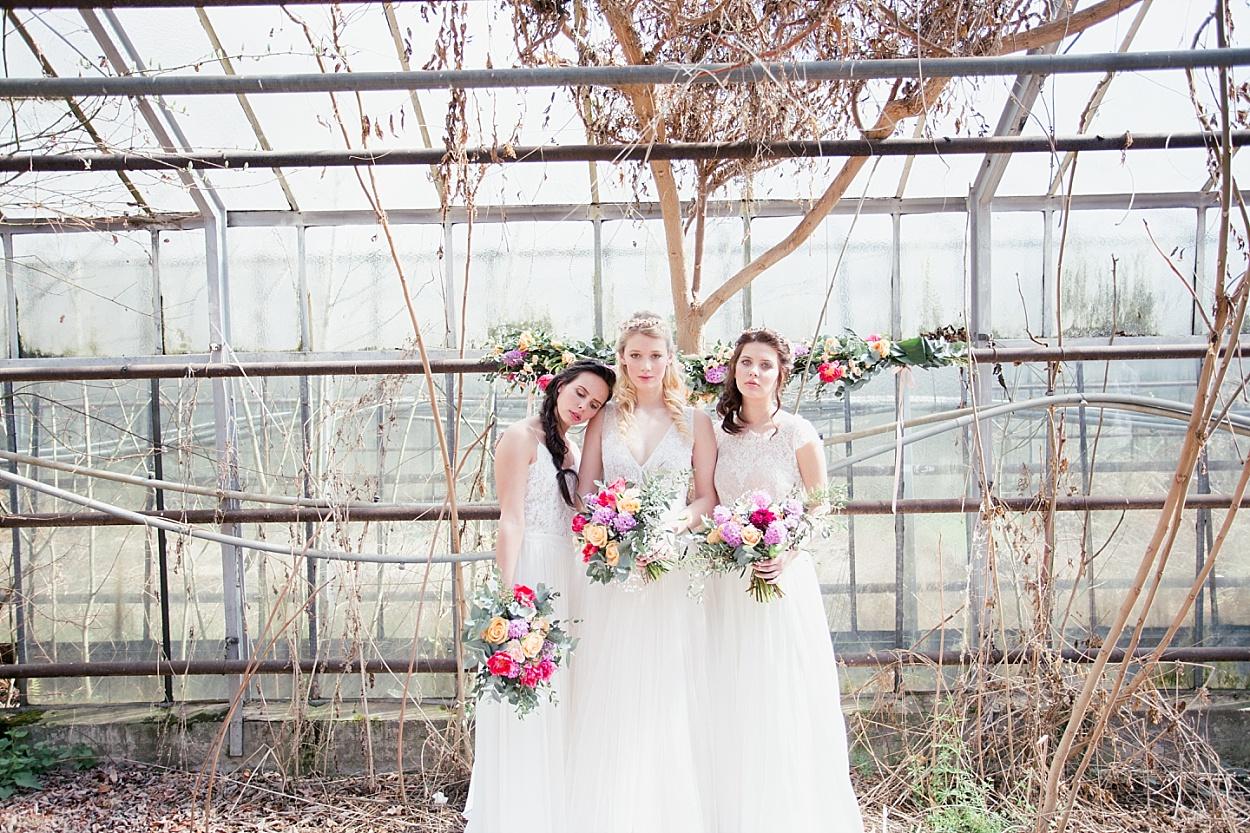 Hochzeit Styling Ideen Gewächshaus