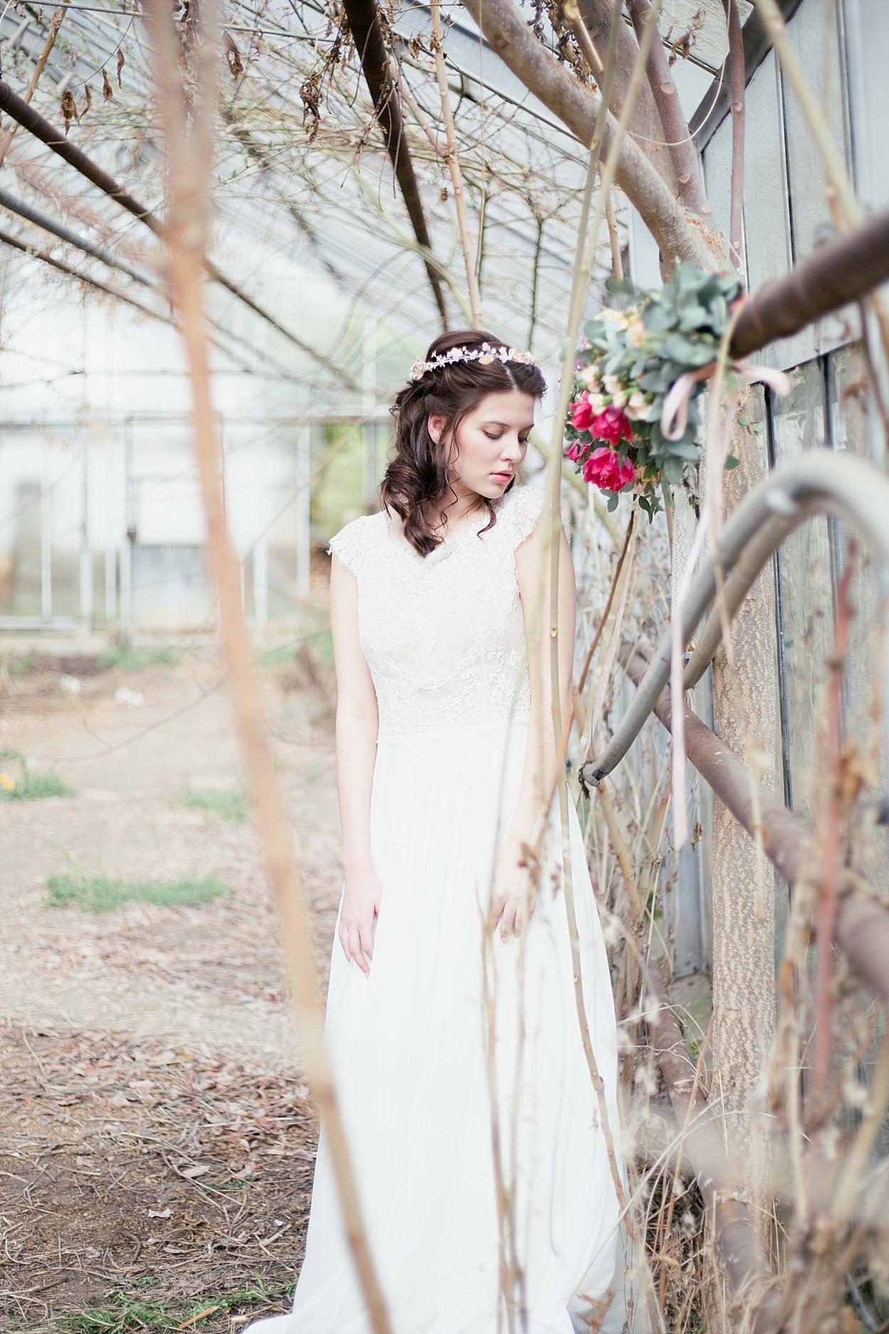 Brautkleid Spitze elegant
