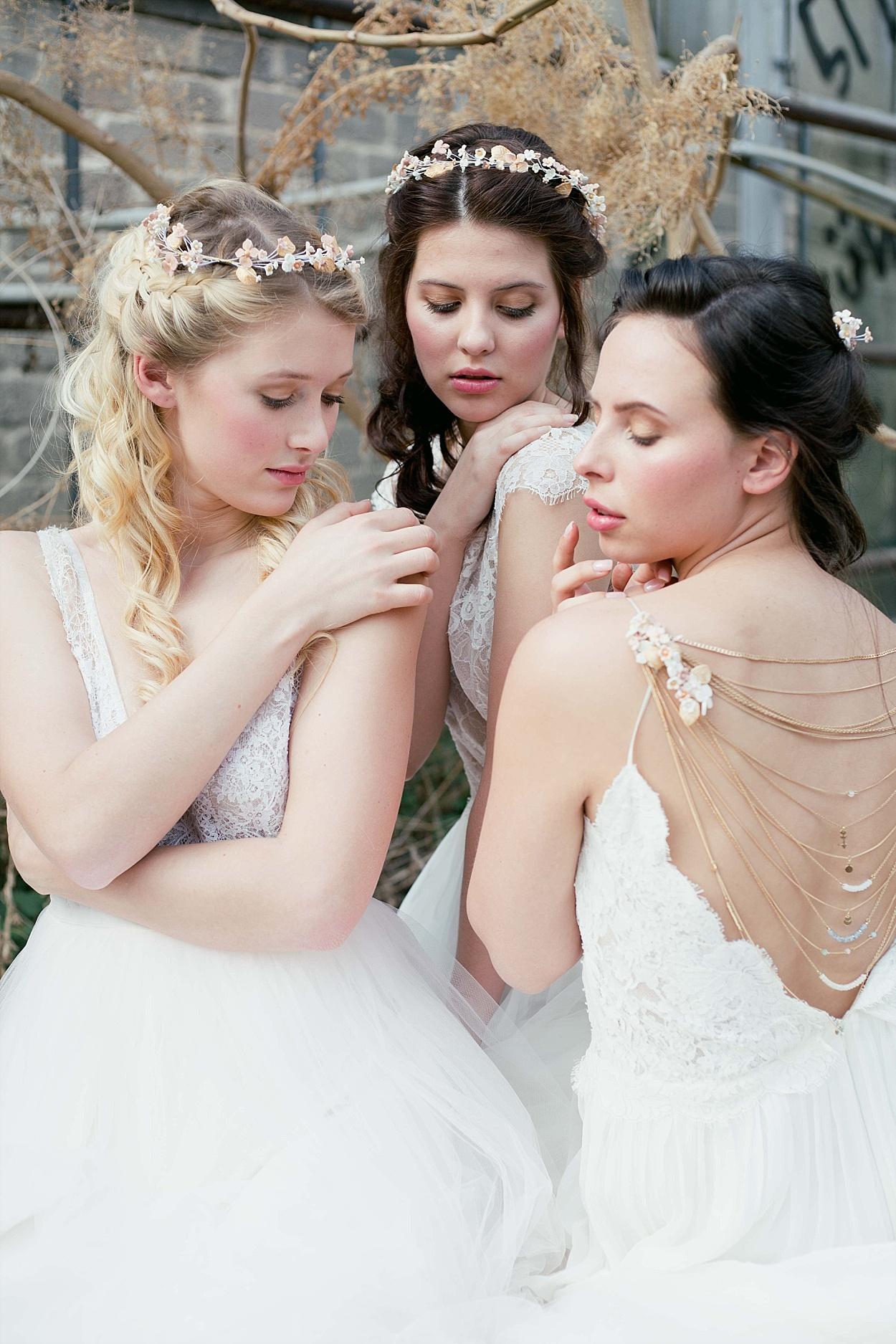 Brautfrisuren Styling Ideen
