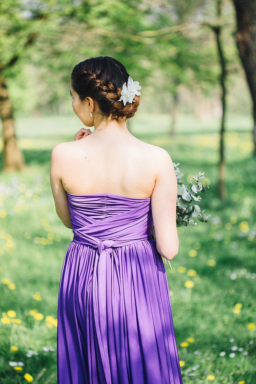 Bridesmaid Frisur Brautjungfer Haare