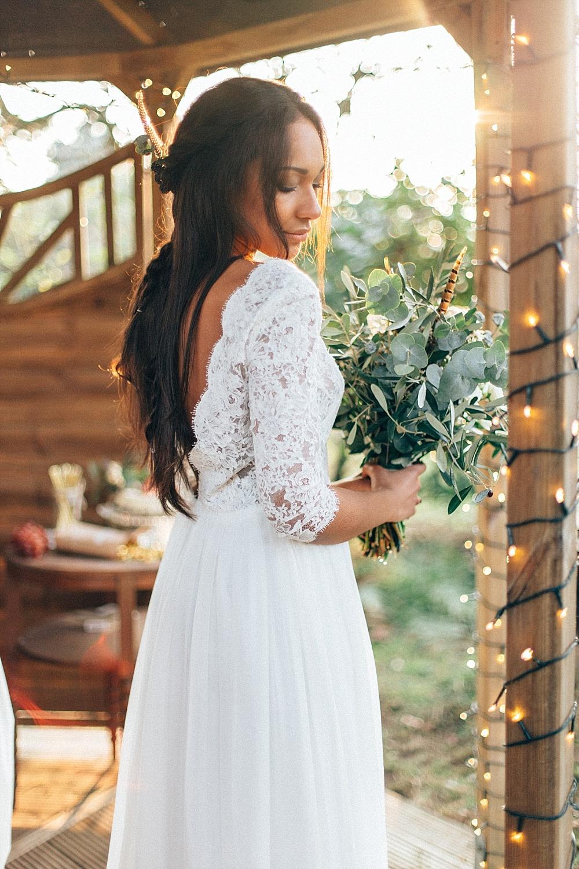 Brautstrauß Boho Hochzeit
