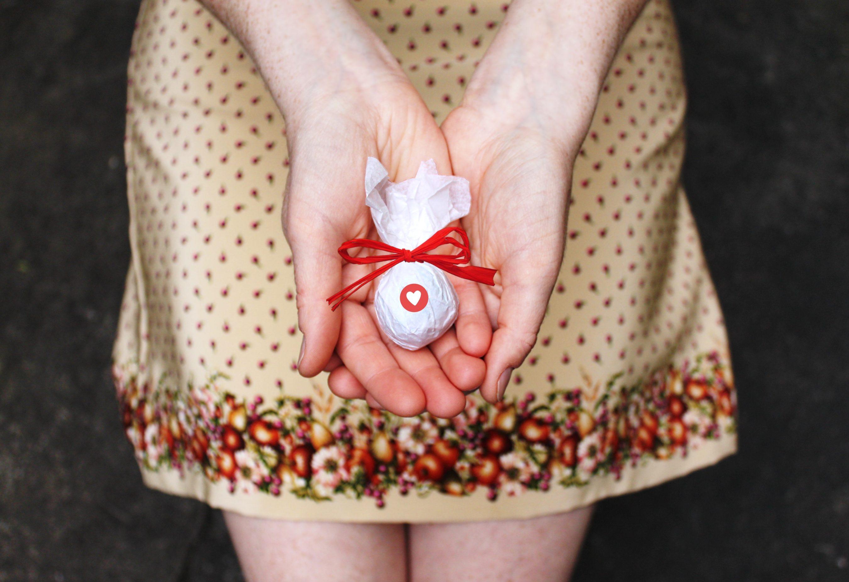 Gastgeschenk Seedball Hochzeit