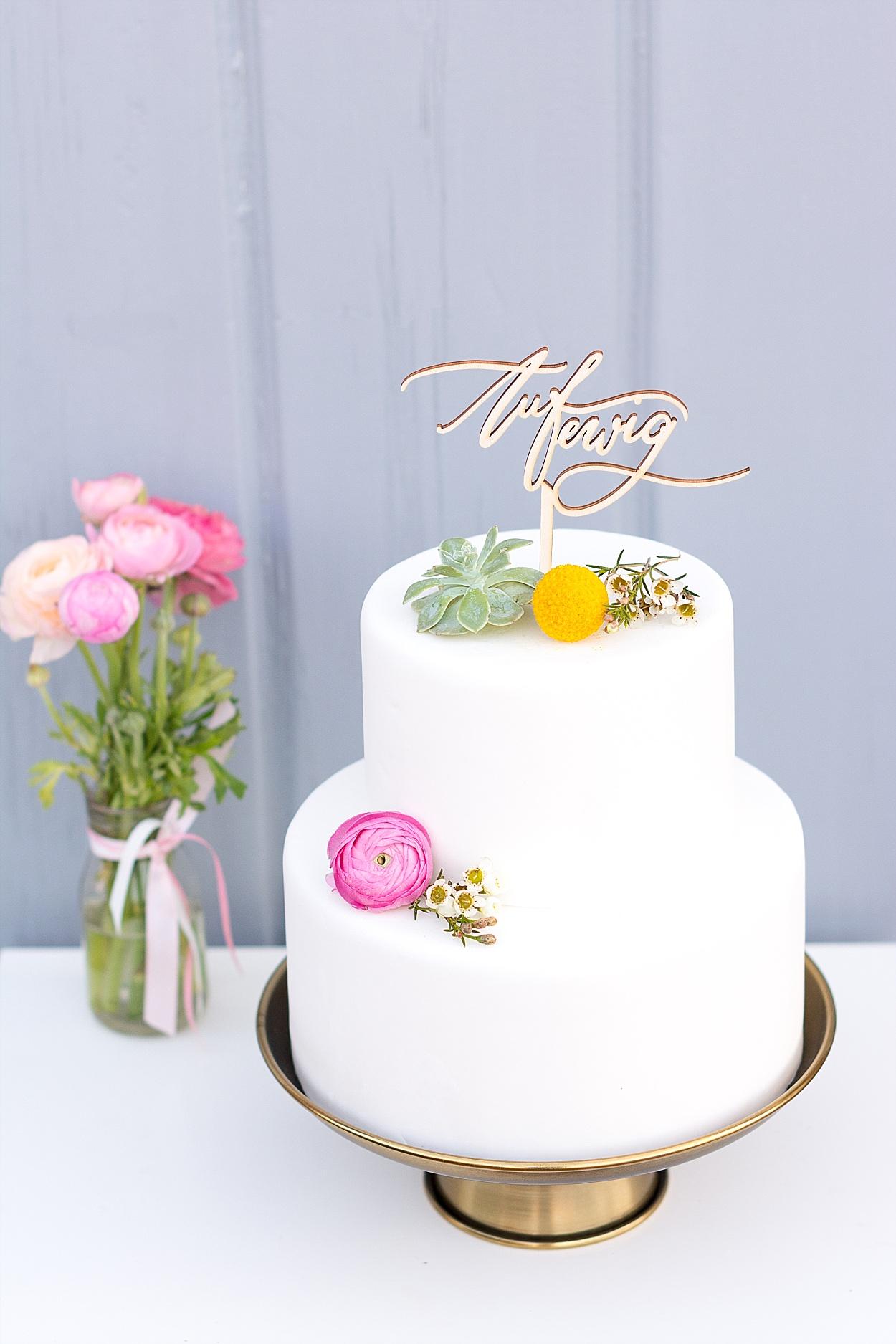 Cake Topper Hochzeit Auf ewig