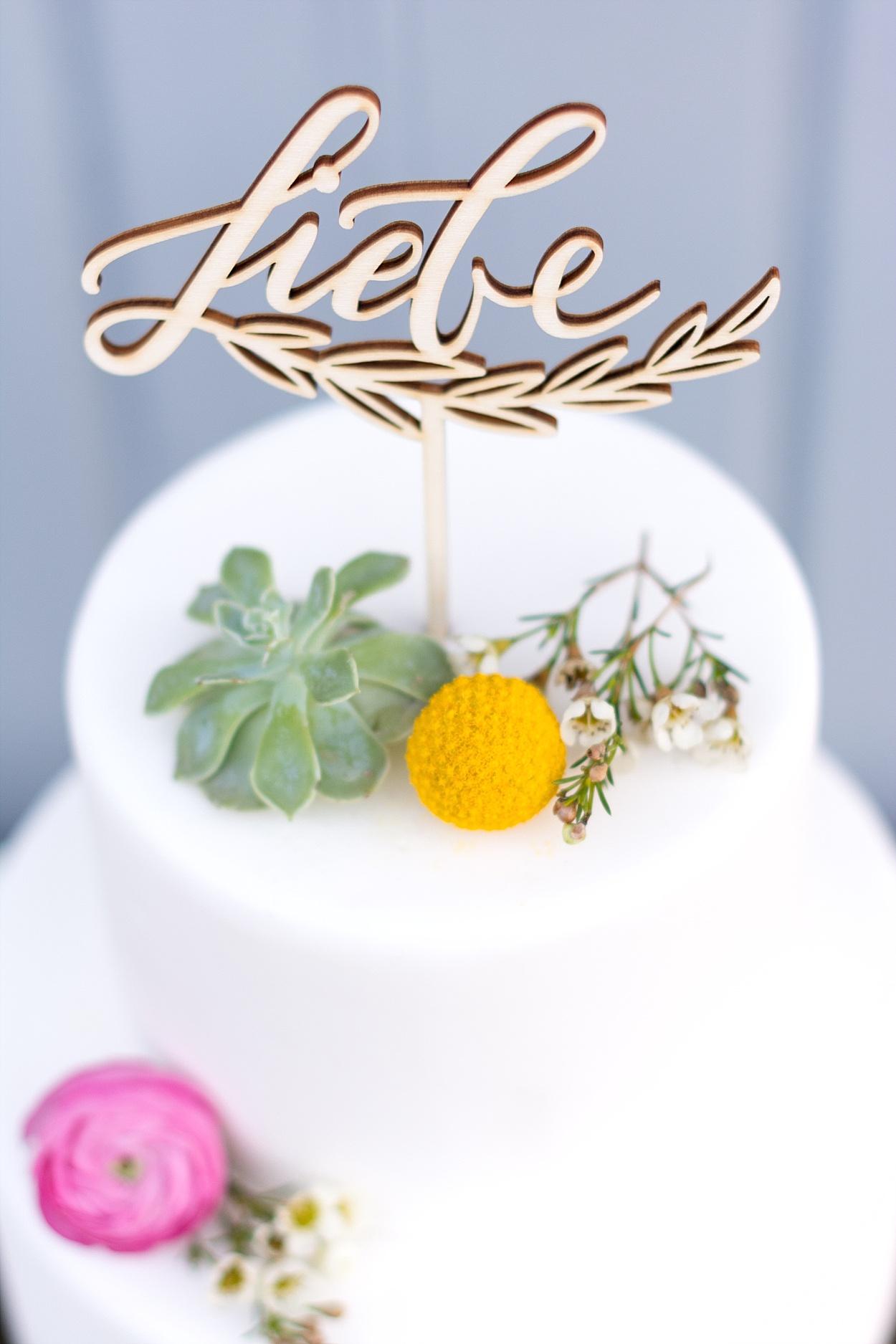 Cake Topper Hochzeit Liebe