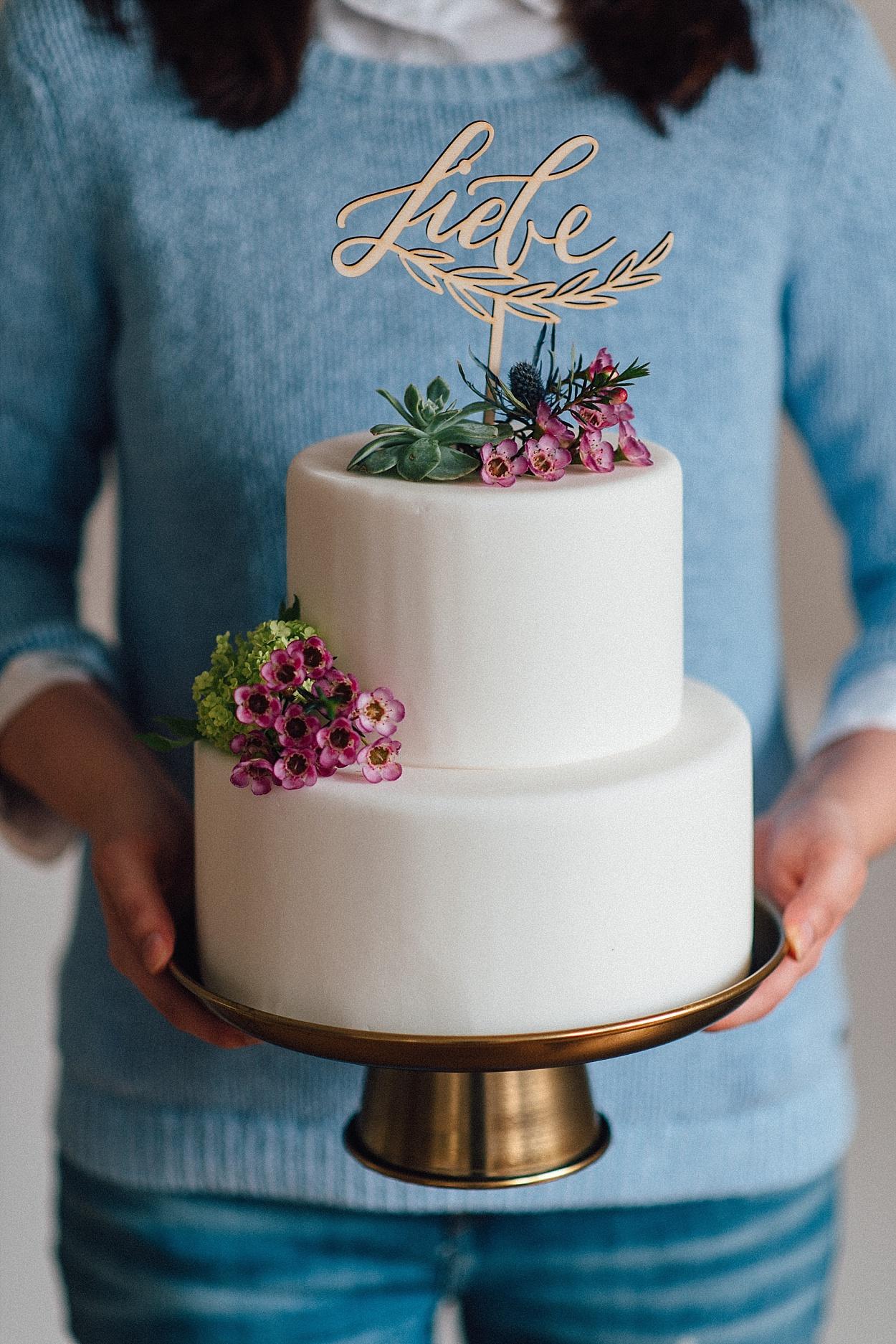 Cake Topper Liebe für Hochzeit