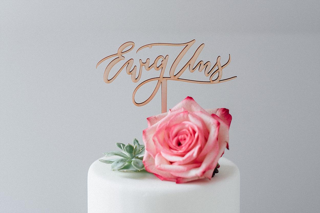 Cake Topper Hochzeit Ewig Uns