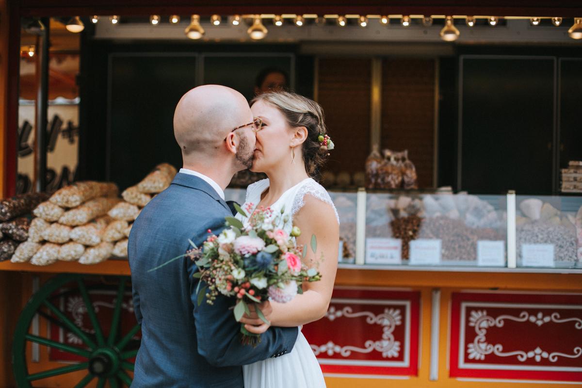 Hochzeitsfotos Jahrmarkt