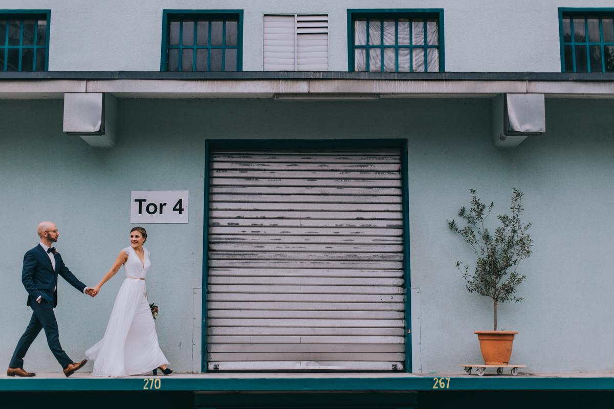 Stadthochzeit urbane Hochzeit