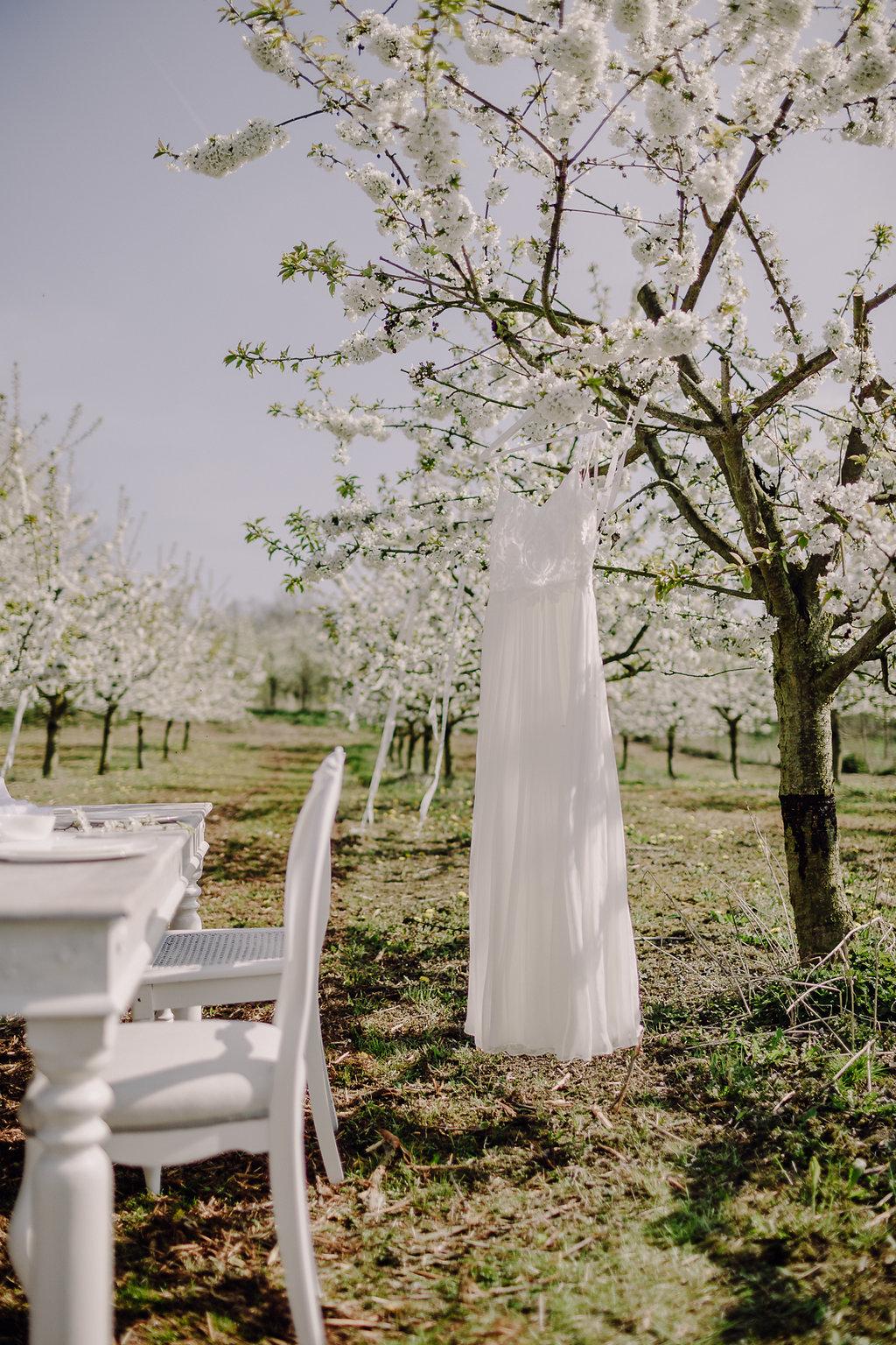 Brautkleid Victoria Rüsche