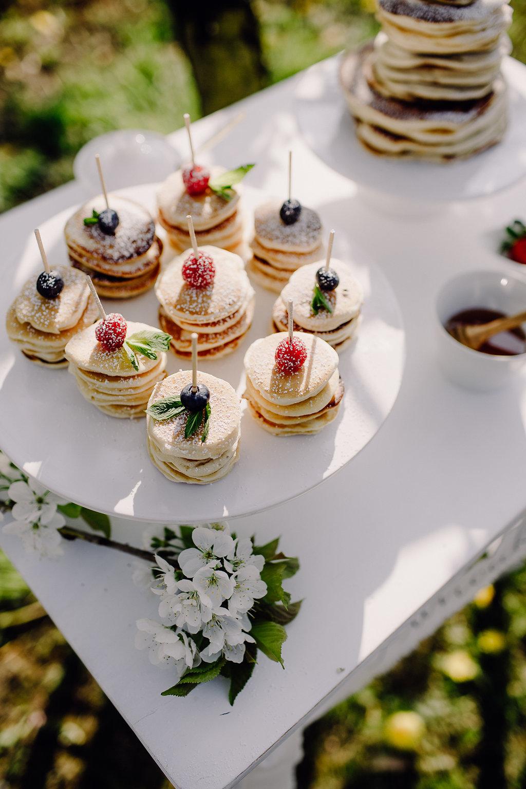 Pancakes statt Hochzeitstorte