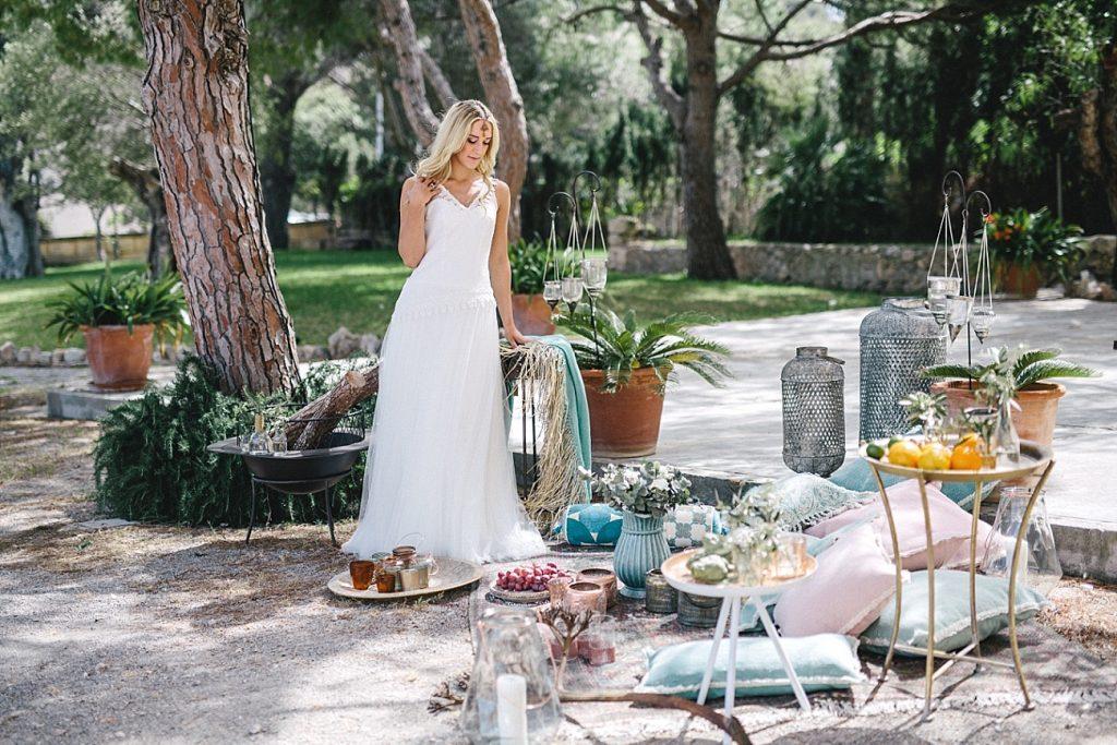 Mediterrane Hochzeitsinspirationen auf Mallorca