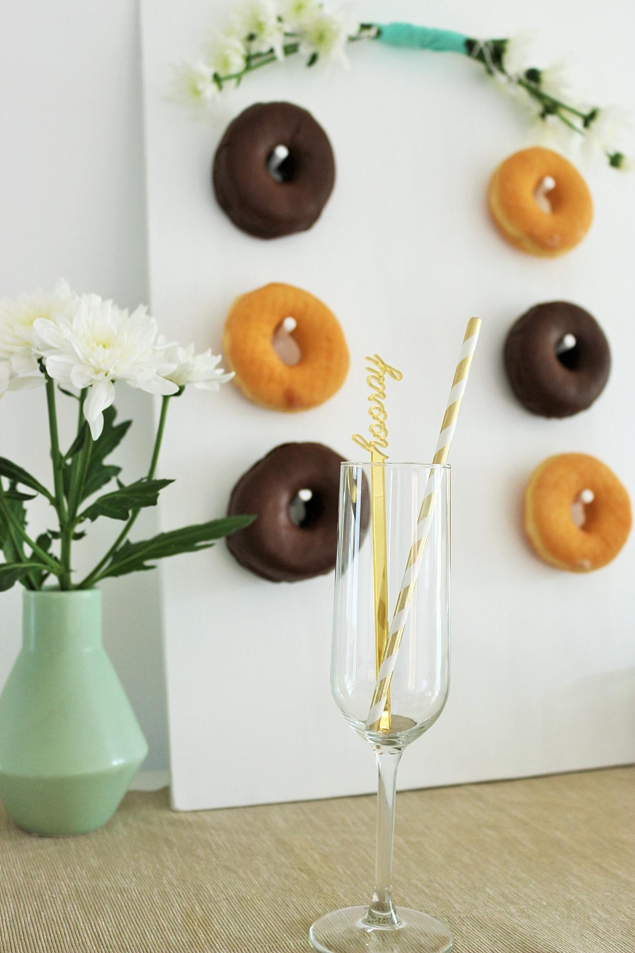 DIY Donut Wall Hochzeit