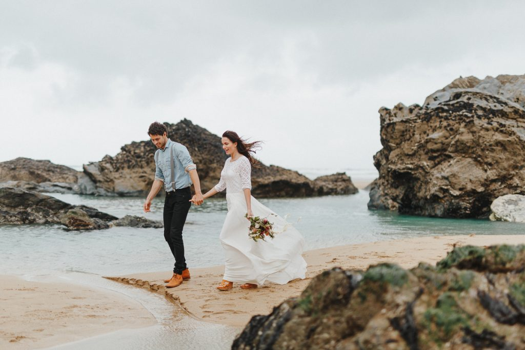Elopement Shooting in Cornwall