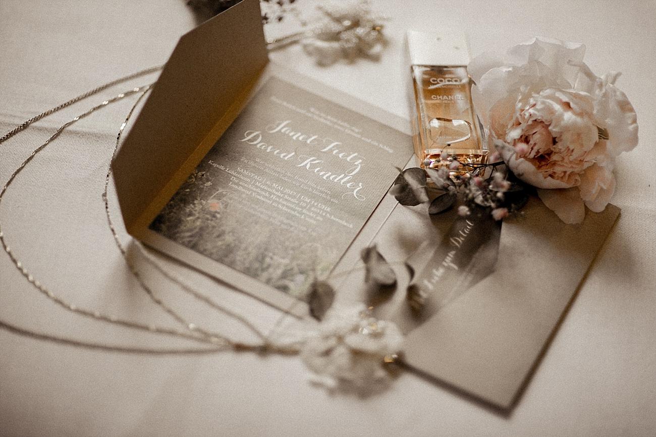 Hochzeitspapeterie Vintage