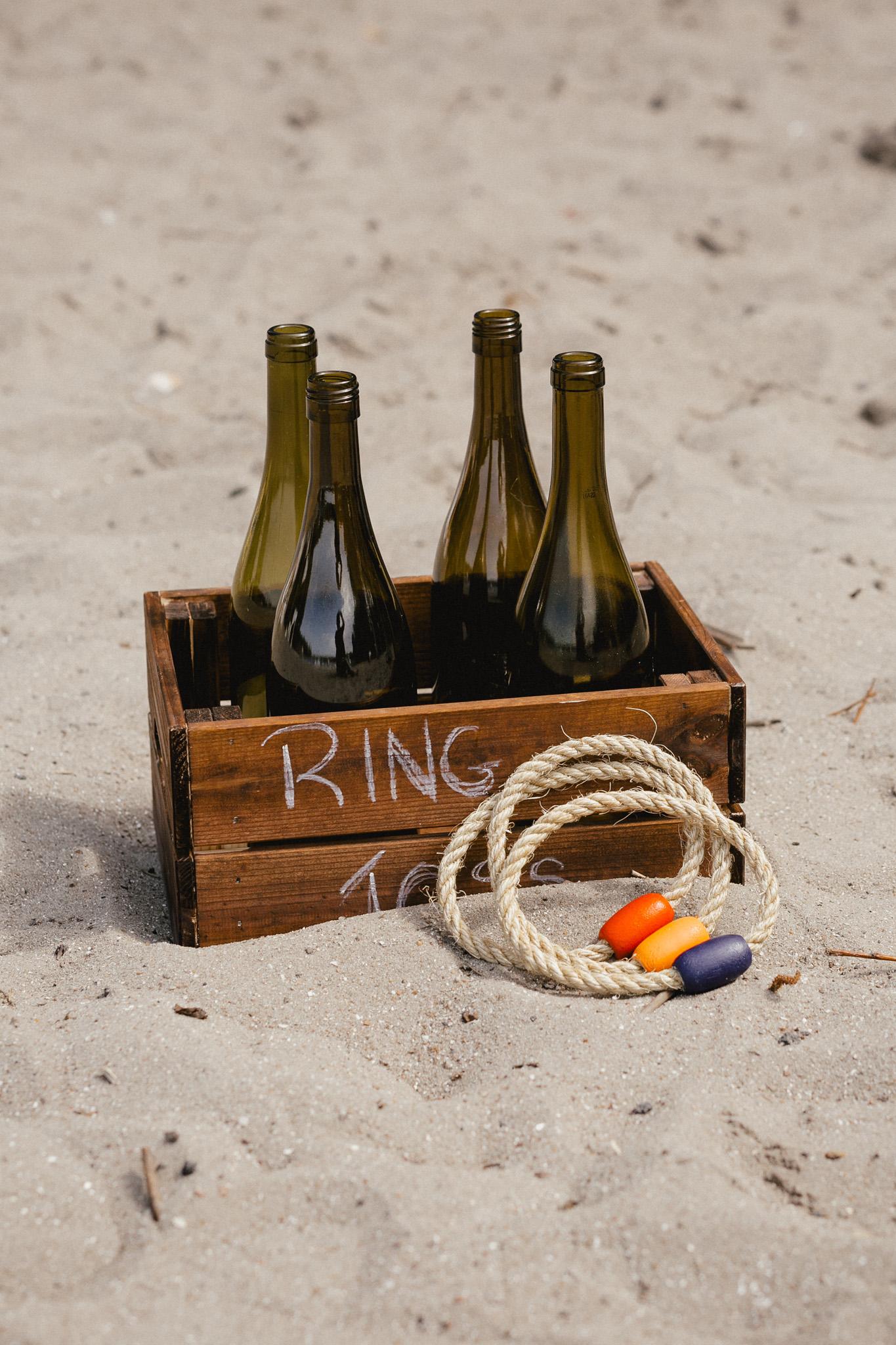 Ringewerfen Hochzeit Beschäftigung der Gäste