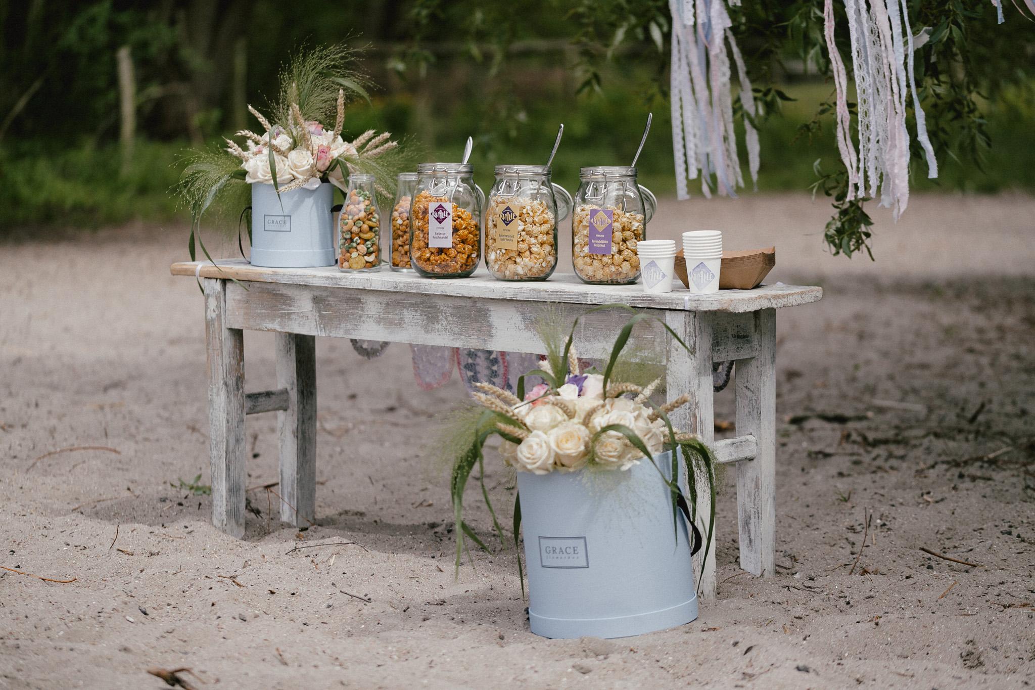 Popcorn Bar Hochzeit