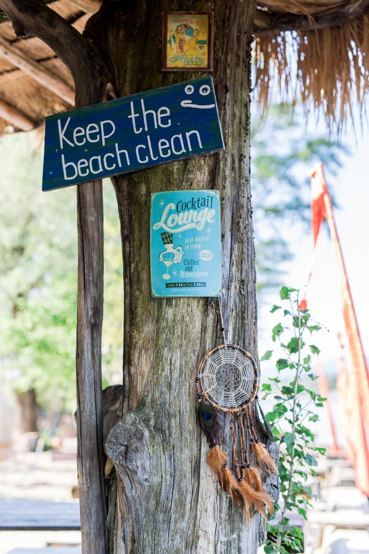 Schilder Hochzeit Strand, Schilder Hochzeit Beach Bar
