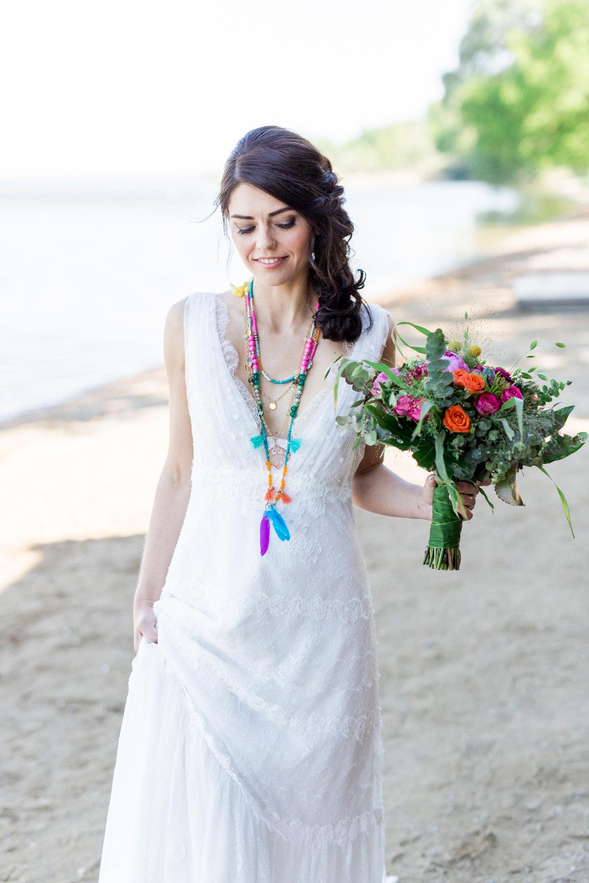 Hochzeit Boho Brautkleid