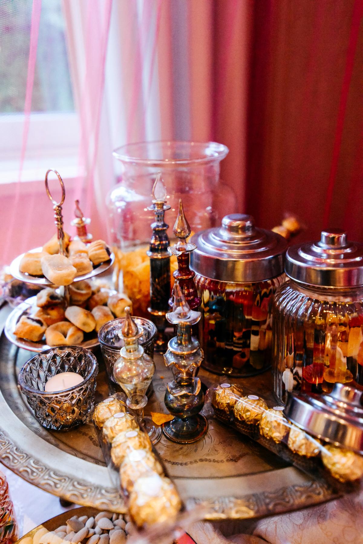 Hochzeitsdekoration orientalisch türkisch