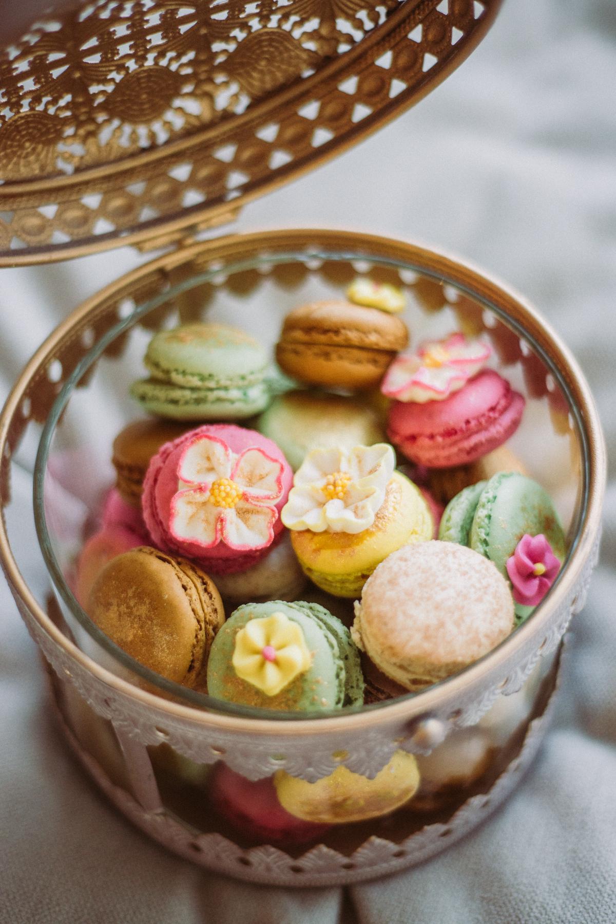 Macarons orientalisch