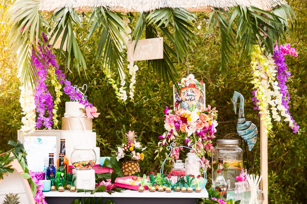 Tropical Wedding – Ideen für eure Strandbar