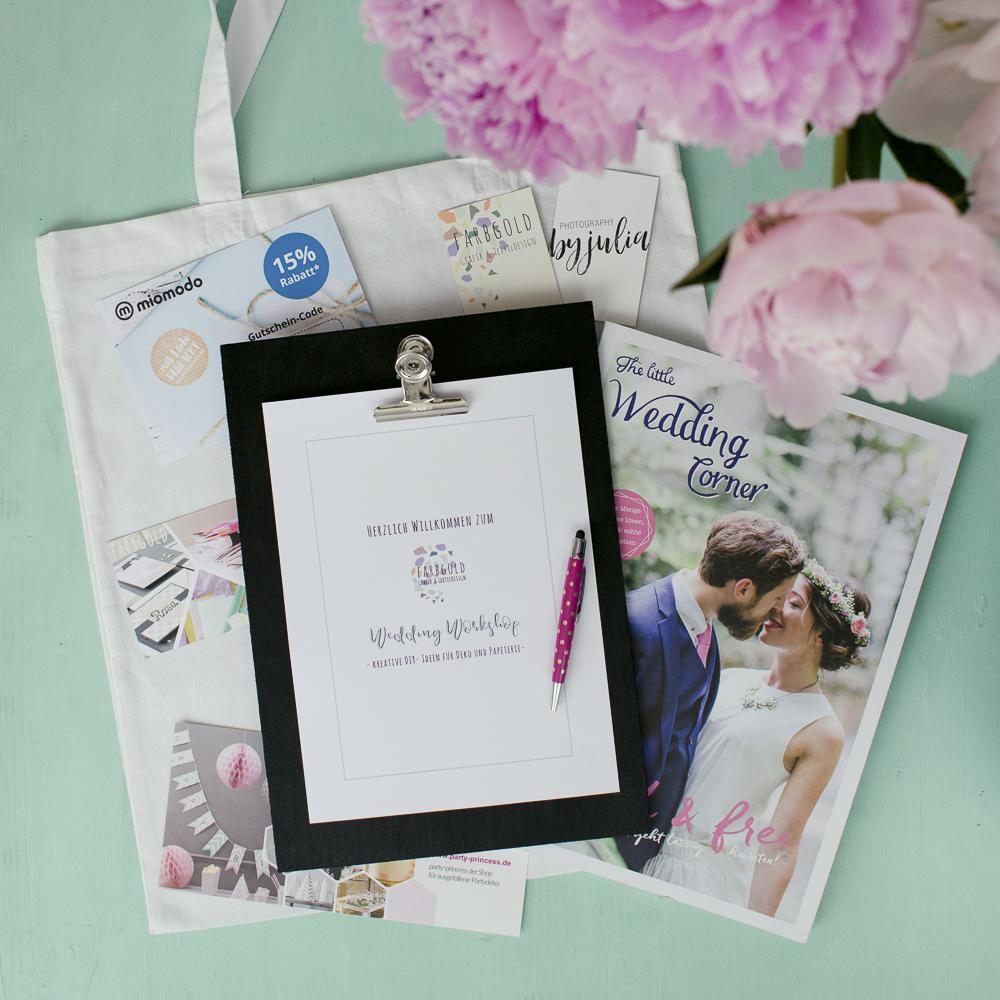 Hochzeitsmagazin Goodie Bag 2018