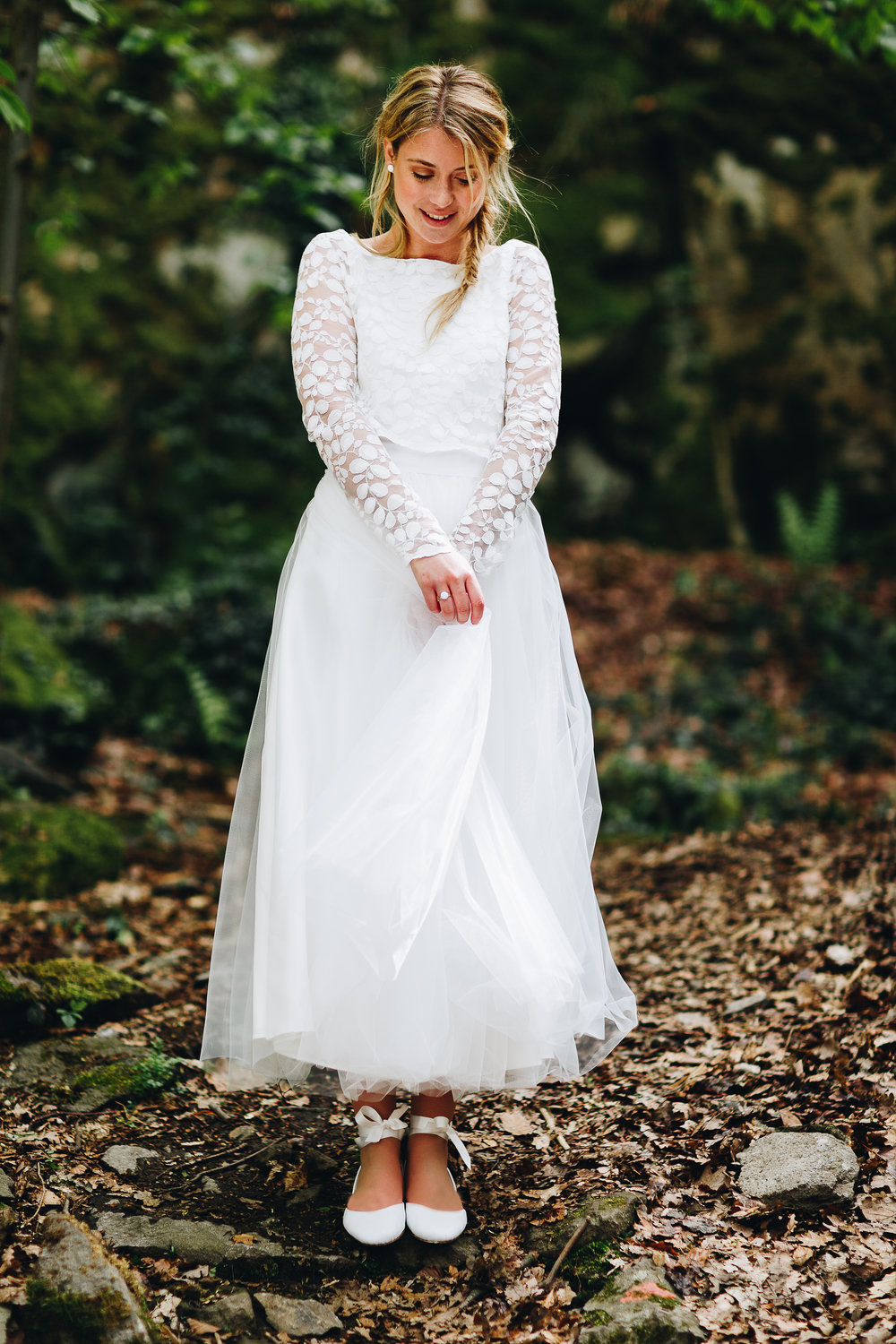 Moderne Brautmode von noni 2018 | Hochzeitsblog The Little Wedding ...