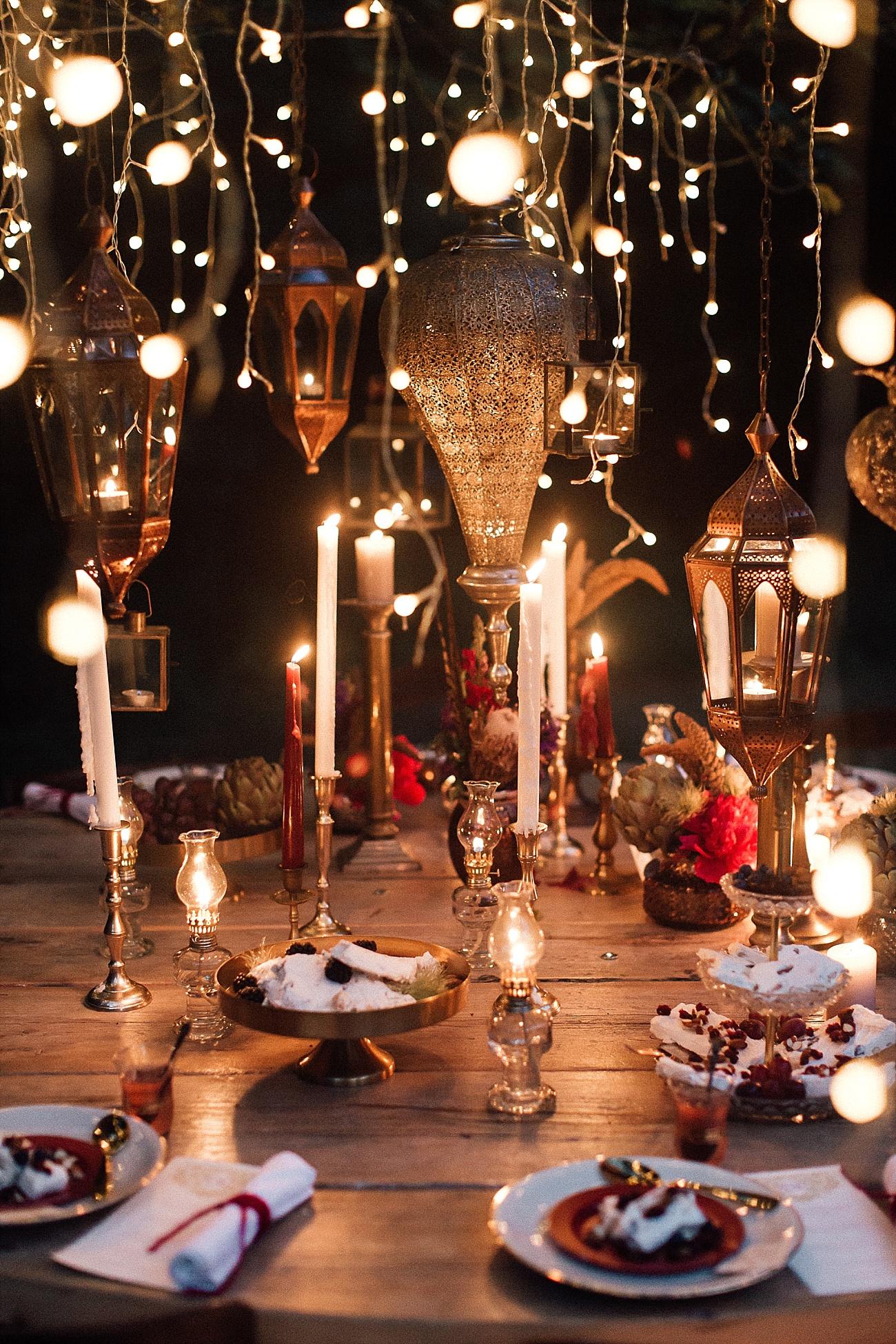 Oriental Nights Tischdekoideen Für Euren Runden Tisch