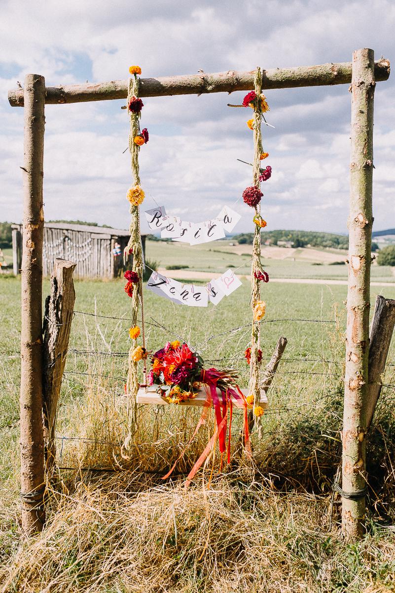 Schaukel Hochzeit