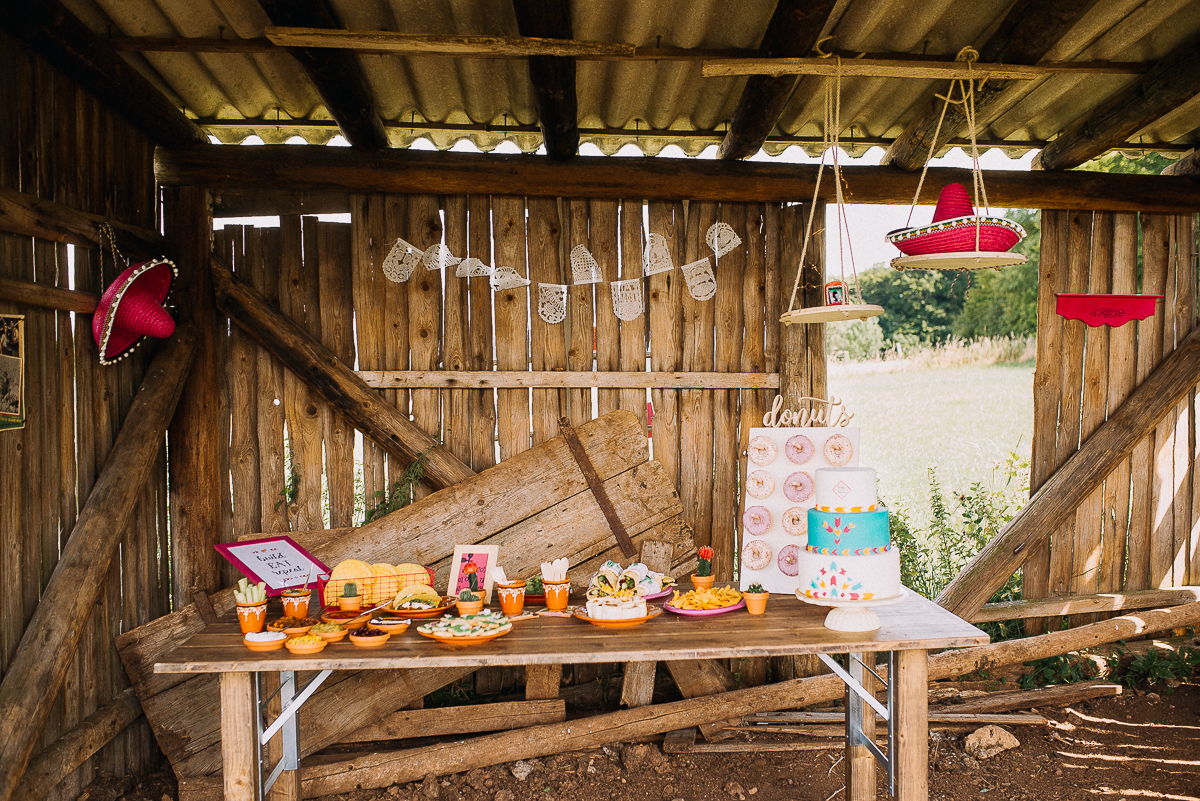 mexican wedding sweet Table