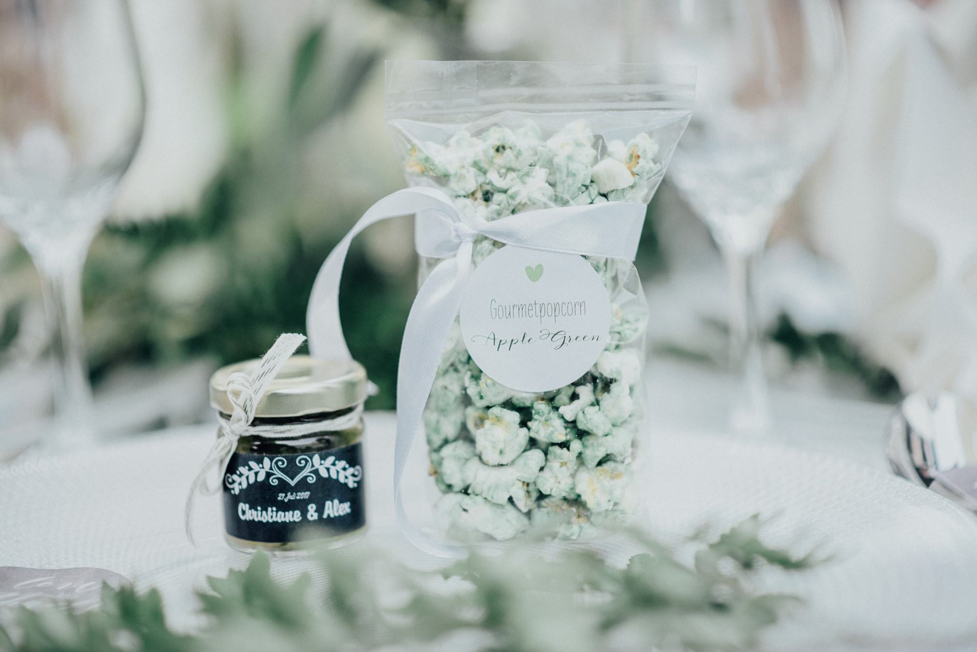 Gastgeschenke Hochzeit Popcorn Chutney