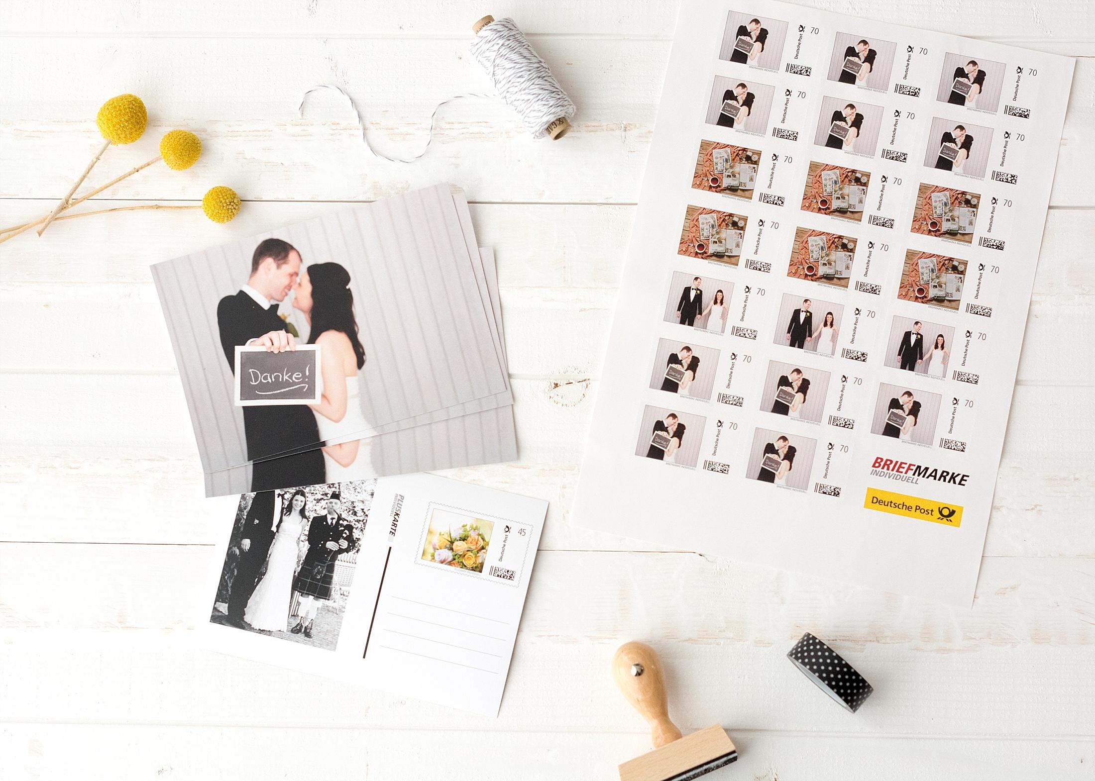 Individuelle Briefmarken Fur Eure Hochzeitskarten Von Deutsche Post