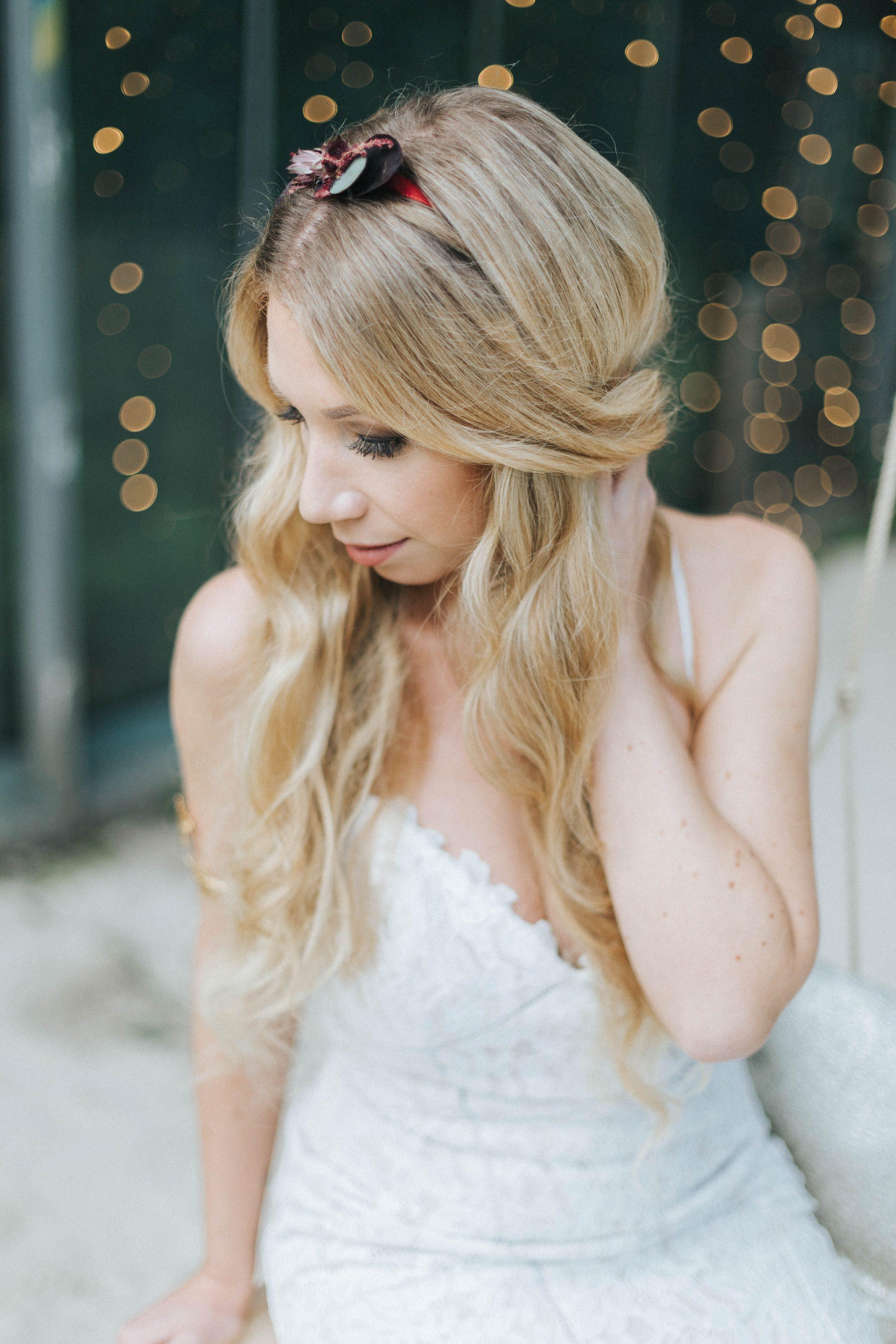 Brautfrisuren kurz blond